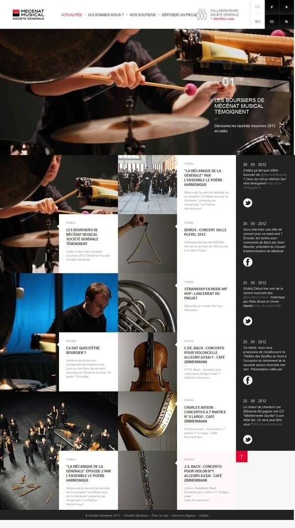 Pinterest #design #grid #digital #layout #web