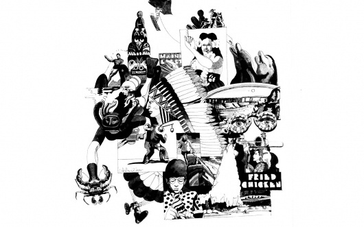 XXXIX — MEDIUM: EXTRA LARGE #illustration #glaser #chicken #milton