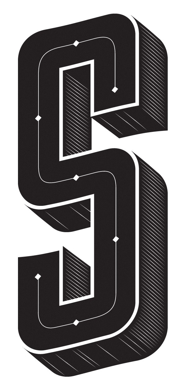 THE SPACE TYPOGRAPHY #letters #typo