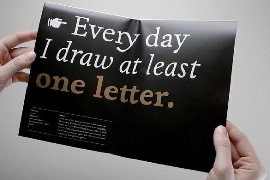 HVD Fonts Promotional Poster #type #booklet