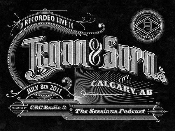 CBC Radio 3 Podcast Lettering on Behance #type #retro #vintage #typography