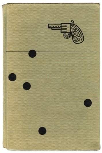 Freaky Fauna's Tumblr - I found this book cover in the trash. #gun #design #graphic #book