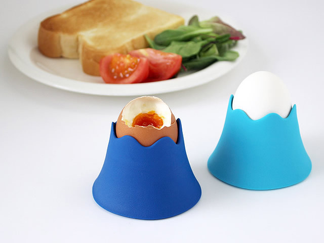 Mt. Fuji Egg Cup #tech #flow #gadget #gift #ideas #cool
