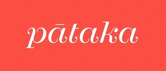 Eight Hour Day » Blog » The Best Thing I Saw Today • May 9, 2012 #logotype #pataka #lettering #klim