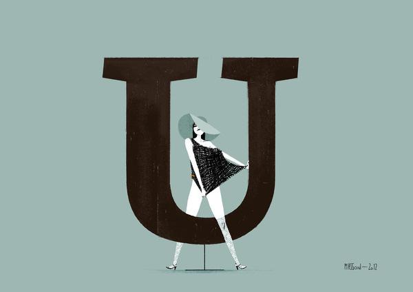 AbsaradesignerXavier Duprédesign date2004publisherFontFont #font #illustration #chic #type #typography