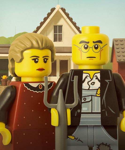 100 custom LEGO minifigs #lego #art