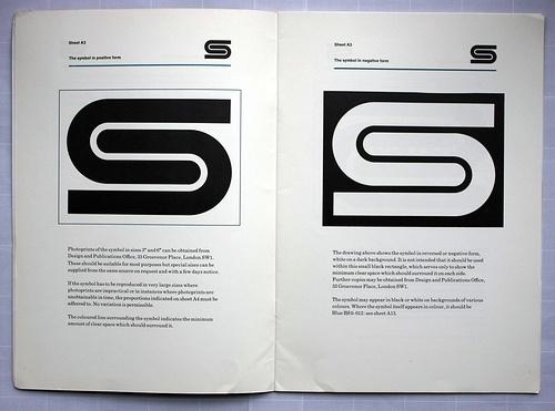 Eye blog » Fixed compass. David Gentleman talks about his identity design for British Steel #steel #british #branding #guidelines #gentleman #brand #logo #helvetica #david