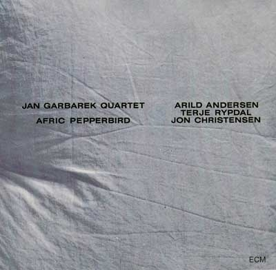 Images for Jan Garbarek Quartet - Afric Pepperbird #album #white #minimalism #cover #ecm #helvetica #records