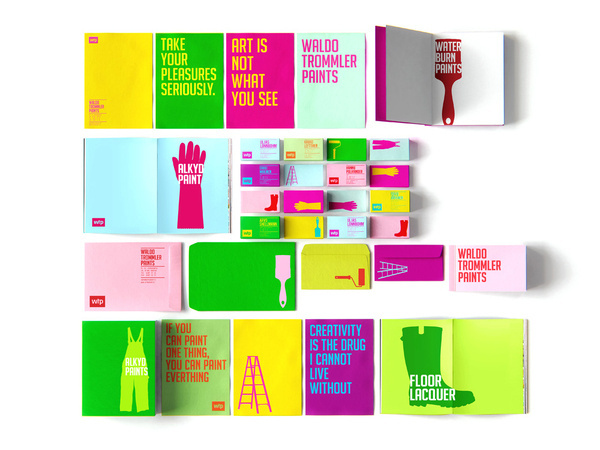 lovely stationery wtp4 #paint #colorful #branding