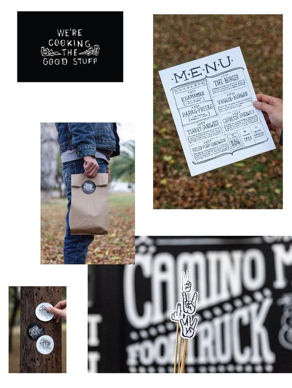 Savvy_El Camino_12 #truck #design #food #typography