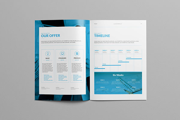 Studio Proposal 2.0 on Behance #annual #report