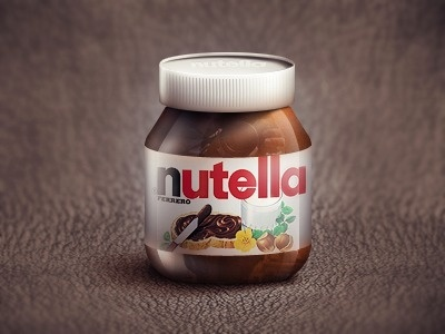 Dribbble - Nutella by Alexander | Alxquare #nutella #logo #typography
