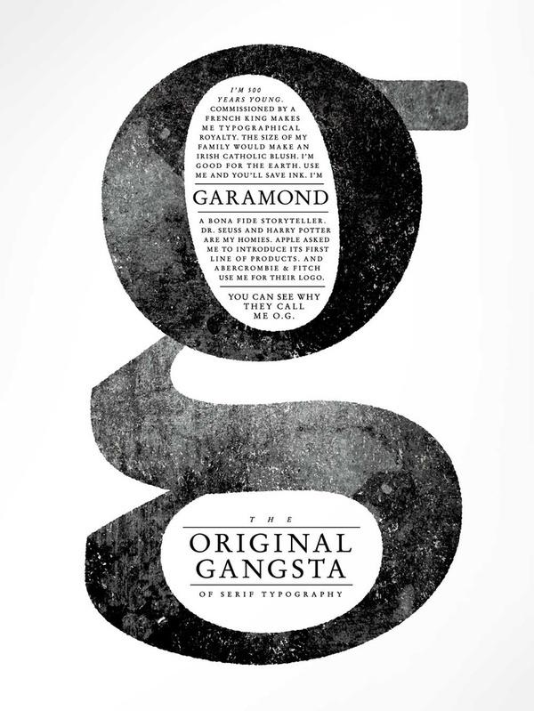OG Garamond #text #garamond #gangsta #original #typeface #typography
