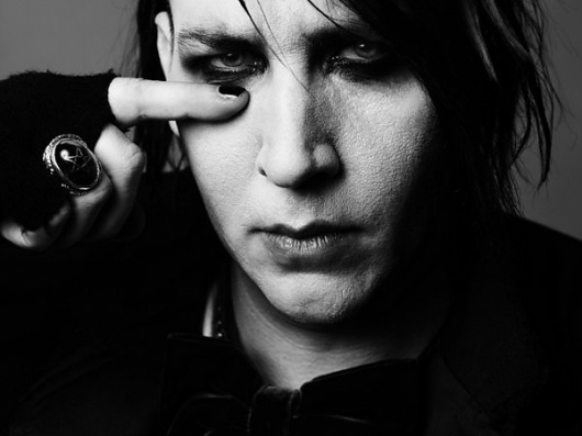 Marilyn Manson by Edi Slimane » Creative Photography Blog #inspiration #photography #celebrity