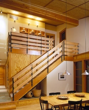 Balance Associates, Architects - portfolio of custom homes, cabins, vacation homes, renovations #wood #architecture