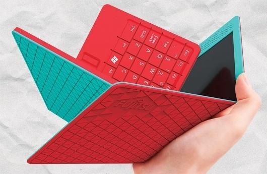 'flexbook' by hao-chun huang - 'FUJITSU design award 2011' shortlisted entry #product