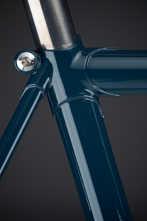 napoleonfour #frame #prussian #bicycle #bike #blue