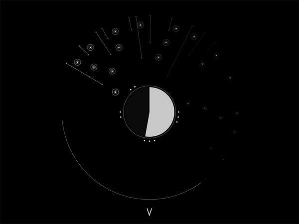 Abstract Codex: Talea #abstract #white #visualisation #black #codex #data #talea