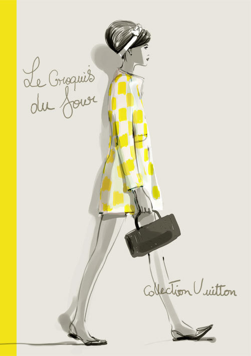 Sophie Griotto #fashion #illustration
