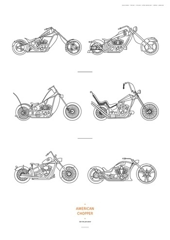 Discovery Posters on the Behance Network #poster #kid #american #discovery #chopper #grandios #american chopper #paul jr