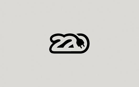 Logos in Black on Branding Served #logo