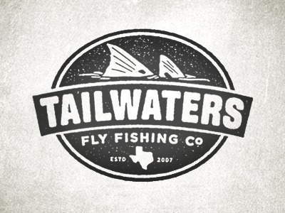 Dribbble - Tailwaters by Jose Canales #logo