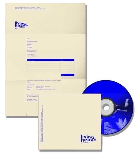 » Livingheads /Visual Identity visualinvolved #id #corporate #branding #livingheads