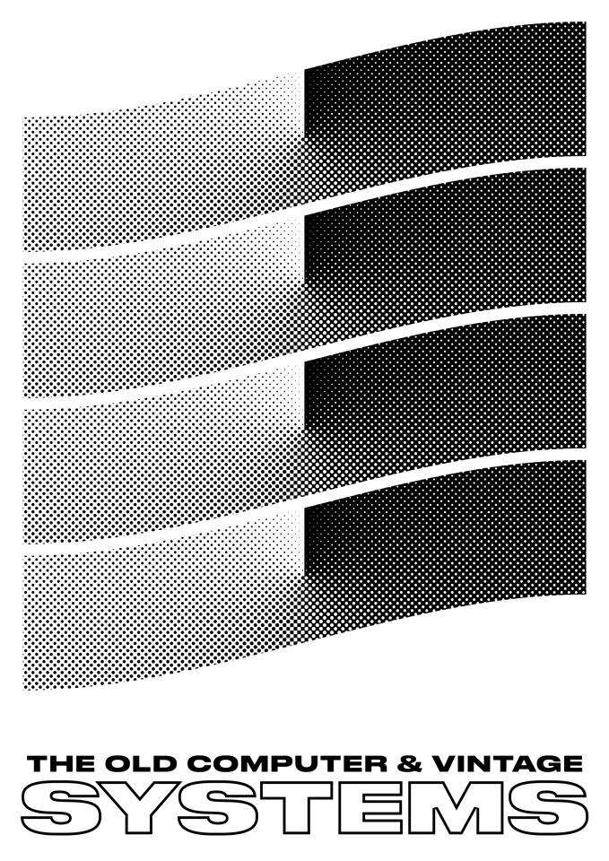 The Old Computer & Vintage Systems. #graphic #design #artwork #poster #swiss #modernist #minimal #vintage #designer #typography #attico36 #s