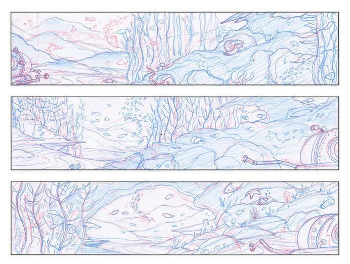 NHM · Seamobile · Pencil Sketches #sketches #process