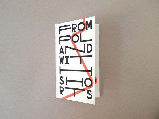 From Poland With Shorts by Edgar Bak #distorted #typography