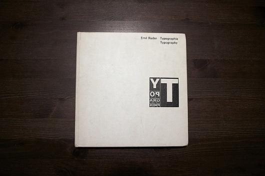 Typographie: Emil Ruder | Flickr - Photo Sharing! #design #book #emil #ruder #typographie #typography