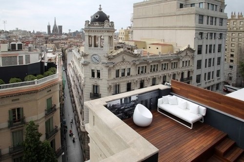 CJWHO ™ (Room Mate Pau Hotel, Barcelona) #spain #interiors #landscape #wood #architecture #barcelona #view #luxury