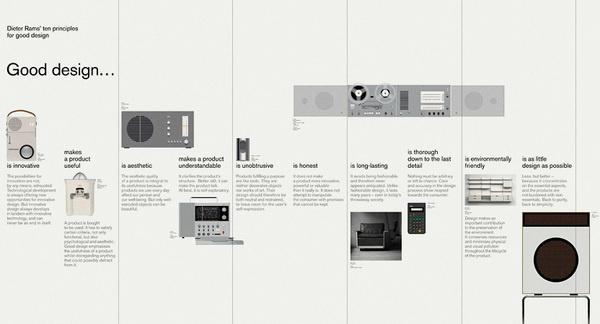 Dieter Rams: Ten Principles | Bibliothèque Design #layout #dieter #rams