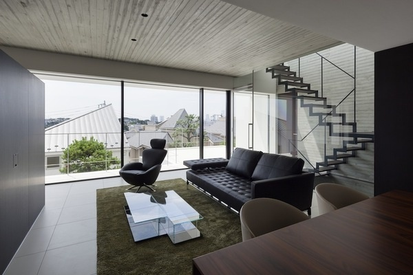 House in Shinoharadai by Tai and Associates #house #desi #home #minimal #minimalist