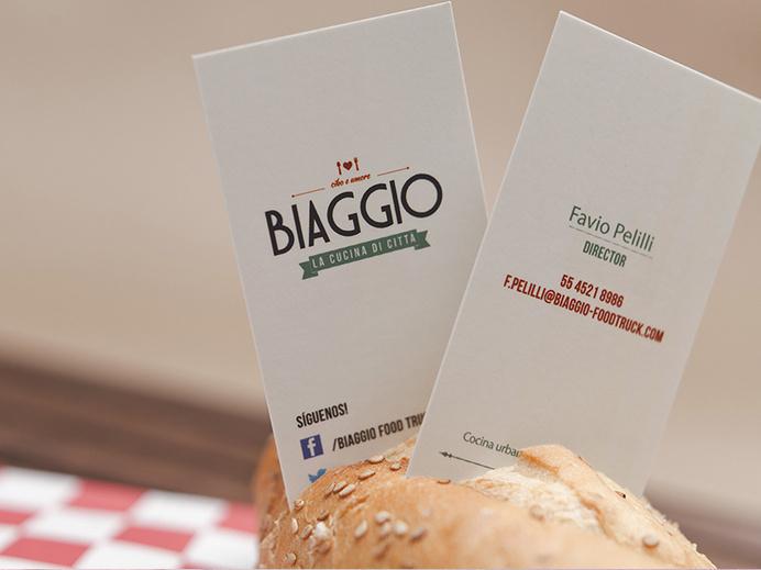 creating a fresh urban concept for biaggio food truck tbp brand design agency design