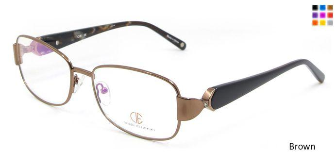 Brown CIE SEC116 Eyeglasses.