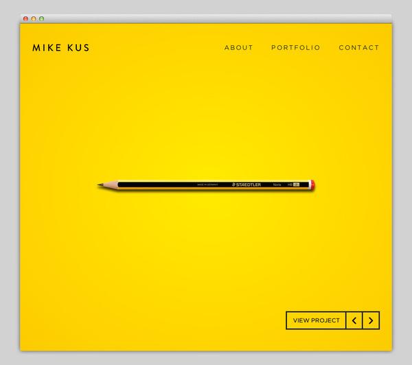 Mike Kus #website #layout #design #web
