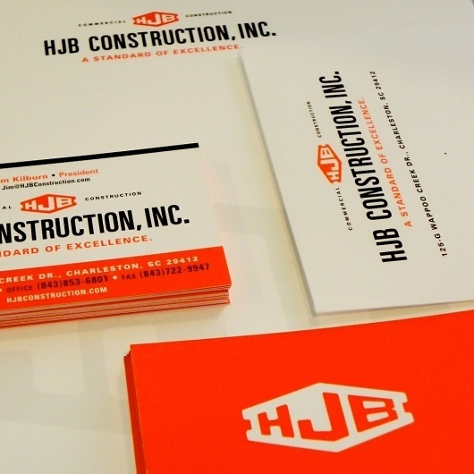 hjb-stationary | Gil Shuler Graphic Design #logo #letterhead