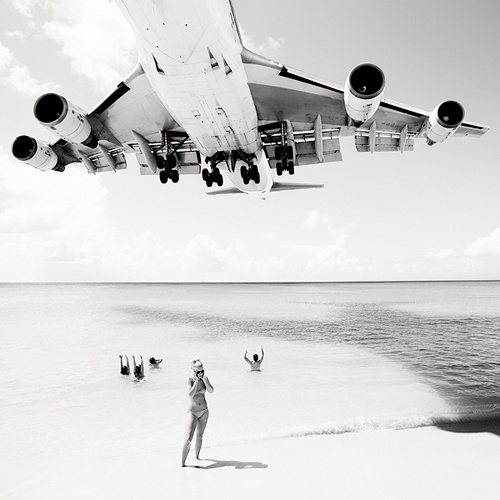 Tumblr Amazing Photo Middleformat 6by6 Photography Plane Beach