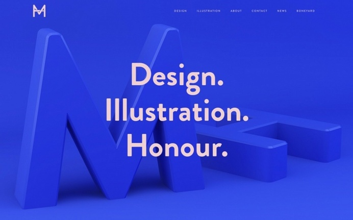 Studio MH multidisciplinary by mike harrison design illustration agency webdesign london inspiration curated by mindsparkle mag