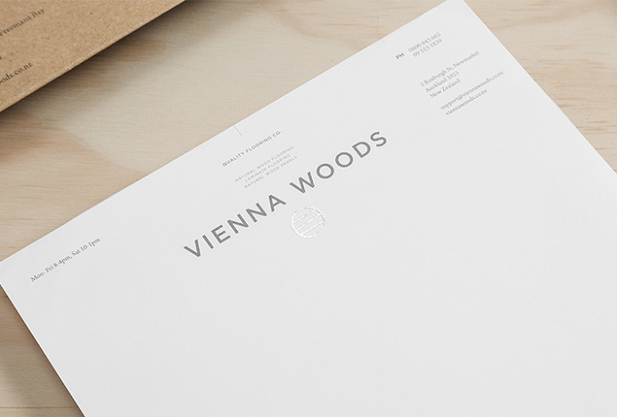 Vienna Woods by Anagrama #logo #logotype #letterhead #print