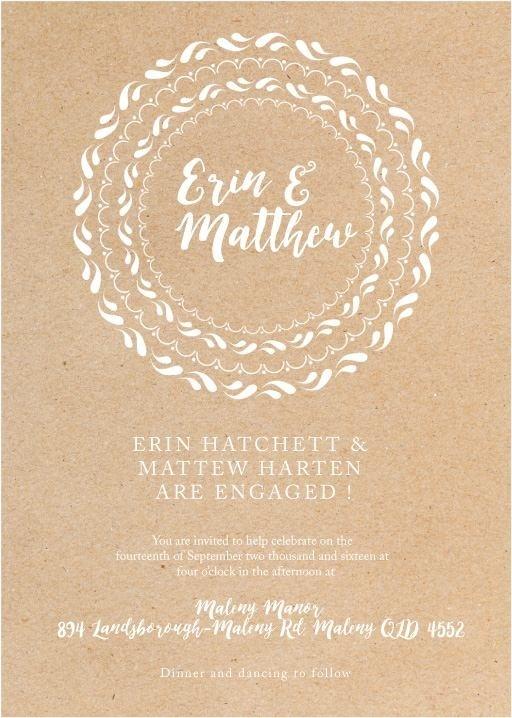 Floral Mandala - Engagement Invitations #paperlust #engagement #engagementinvitation #invitation #engagementcards #engagementinspiration #w