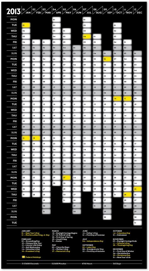 2013 Public Assembly Calendar Public Assembly   Branding #print #calendar #2013 #black #grid #poster