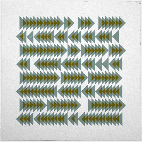 #393 Shoal movements – A new minimal geometric composition each day