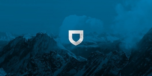 snagly #logo #mountain #blue