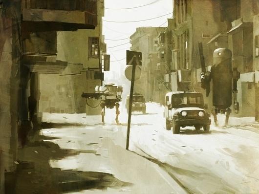 Ashley Wood | Artist #paintings #illu #wood #illustration #ashley #art