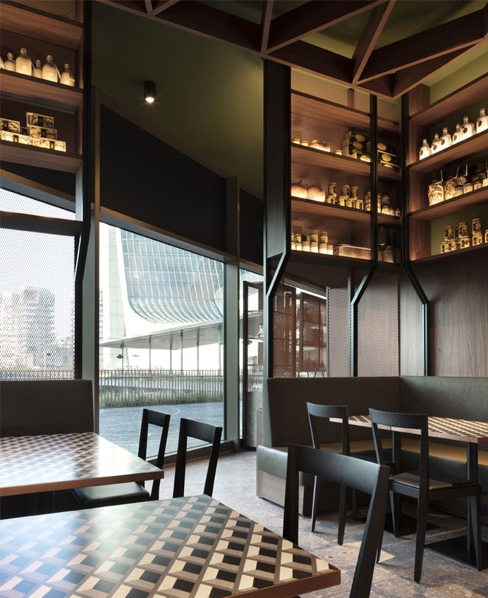 Innovative Concept of Peck CityLife by Studio Vudafieri Saverino Partners - InteriorZine