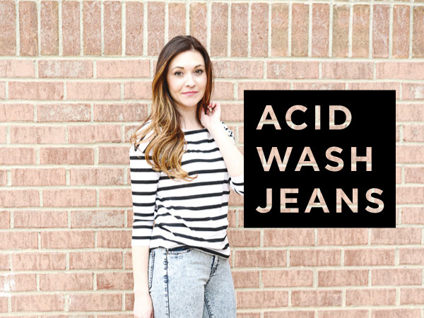 West End Girl Blog | BLOG | Designer of all things lovely #jeans #acid #wash #fashion #typography