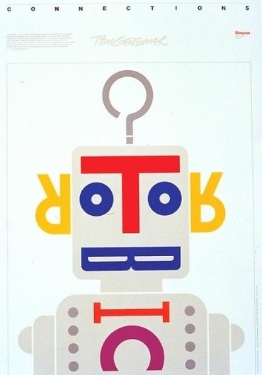 Baubauhaus. #illustration #typo #robot