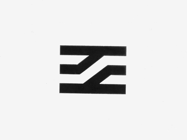 Visuel Design (Jean Widmer) — Centre Georges Pompidou(1977) #logo